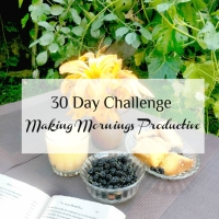 30 Day Challenge: Making Mornings Productive